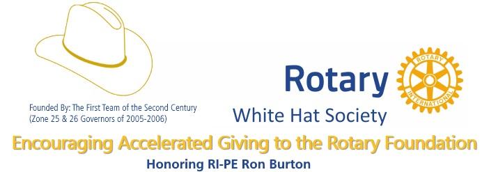 White Hat Society banner