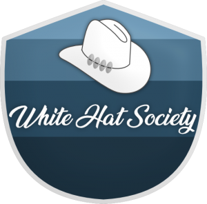 white hat society fifth level members logo