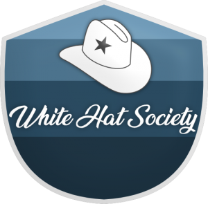 five point star for the white hat society