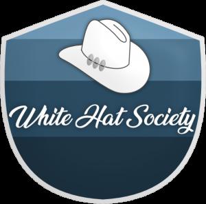 white hat society fourth level members logo